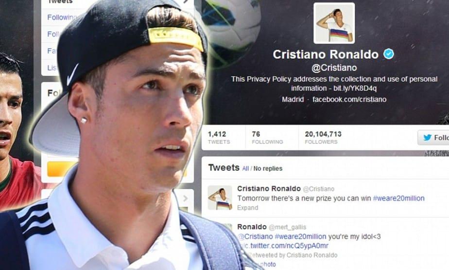 Le prix d'un tweet de Cristiano Ronaldo s'élève à 230.000 €